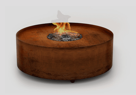 Planika Galio Fire Pit Corten staal